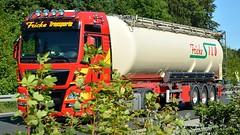 D - Fricke Transporte MAN TGX XXL (BonsaiTruck) Tags: lag fricke man tgx lkw lastwagen lastzug silozug truck trucks lorry lorries camion caminhoes silo bulk citerne powdertank