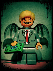 The New Jersey Devil (LegoKlyph) Tags: lego custom brick block build political trump 45 orangeone evil devil newjersey