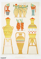 Variety of Egyptian urns from Histoire de l'art égyptien (1878) by Émile Prisse d'Avennes (1807-1879). Digitally enhanced by rawpixel. (Free Public Domain Illustrations by rawpixel) Tags: otherkeywords anillustrationoftheegyptian ancestry ancient ancientegyptian ancientegyptianart antique archaeological archeology art artwork cc0 design designing drawing dynasty egypt egyptian egyptiandesignvase egyptiankingdom egyptianpottery egyptology empire handdrawn histoiredelartégyptien historical history illustration interior kingdom mythology objects old oldfashioned outlines outlinesfromtheantique pattern pottery psd sepia sketch story traditional vases vintage émileprissedavennes