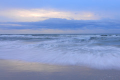 Assateague Sunrise by Andrew Rimel (Maryland DNR) Tags: 2018 photocontest scenery sceniclandscape water assateague statepark beach ocean waves movement sunrise