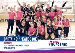 Kangeroe ballenmeisjes bij Team Eurosped; okt.2018