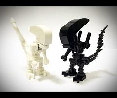 Lego MOC Xenomorphs (wind9221) Tags: alien neomorph xenomorph moc lego legomoc