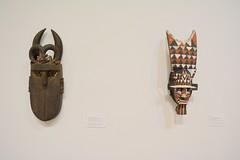 Fort Lauderdale, FL - NSU Art Museum - African Art - Loma and Marka-Dafing Masks (jrozwado) Tags: northamerica usa florida fortlauderdale museum art nsu university african ethnography folkart mask woodcarving loma markadafing