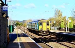 Photo of Class 150 at Bridgend