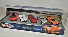 Gran Turismo Car Pack. (ManOfYorkshire) Tags: majorette diecast diecasts cars auto granturismo vision 164 scale presentation box gift pack display racingtrack package special