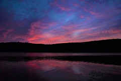 Last of the light (Sunset Master) Tags: sunset vermont nikon lake bomoseen clouds reflection d7200 landscape summer pink red blue contrast