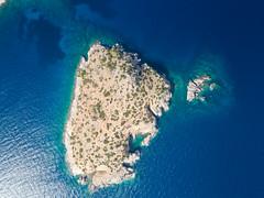 Lonely island Greece