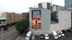 SEA_Amazon_10 (Overall Murals) Tags: seattle handpainted outdooradvertising advertising handpaint drone wallscape largescale amazon jack ryan pikeplace pike place