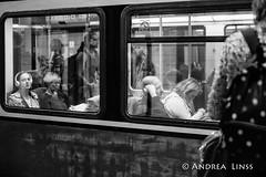 public transport... (andrealinss) Tags: berlin bw blackandwhite berlinstreet berlinstreets schwarzweiss street streetphotography streetfotografie sbahn andrealinss 35mm publictransport publictransportpassengers pixoom berlinforyou