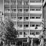 Hotel turist (Турист) Skopje, Macedonia by Dragan Tomovski – 1958 thumbnail