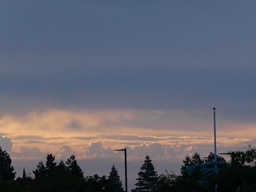 2018-10-02 - First seasonal Rain Clouds