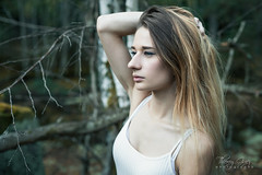 SOLENE (Impact Photographic) Tags: fashion model beauty pretty girl woman blondehair portrait nature photography thierry guez