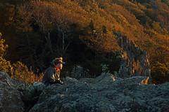 Little Stony Man: Appalachian Trail through hiker (Shahid Durrani) Tags: little stony man shenandoah national park virginia sunset