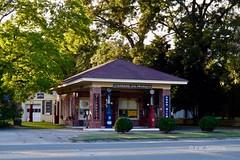 Restored Gas Station (r.w.dawson) Tags: mathewscounty virginia va usa vintage gasstation building architecture restored