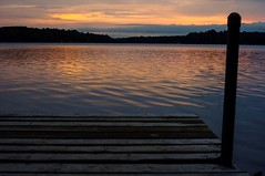 summer_memory (ella~d) Tags: summer lake cabin mooselake minnesota sunset colors pink quiet peaceful pentax