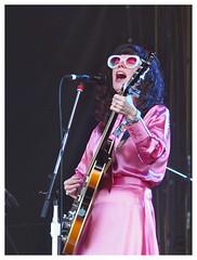 Natalie Prass (daveelmore) Tags: natalieprass musician concert music musicfestival austincitylimitsmusicfestival aclmusicfest austintx zilkerpark guitar woman sing pink manualfocus legacylens penfm43adapter fzuiko70mm12