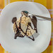 Semifreddo, an ice-cream cake dessert