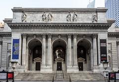 New York Public Library (Eridony (Instagram: eridony_prime)) Tags: newyorkcity newyorkcounty newyork nyc manhattan midtown library publiclibrary constructed1911 historic nrhp nationalregisterofhistoricplaces nationalhistoriclandmark