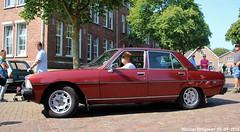 Peugeot 604 Ti V6 1978 (XBXG) Tags: 62nhv2 peugeot 604 ti v6 1978 peugeot604 prv la fête des limousines 2018 fort isabella reutsedijk vught nederland holland netherlands paysbas emw elk merk waardig youngtimer old classic french car auto automobile voiture ancienne française vehicle outdoor