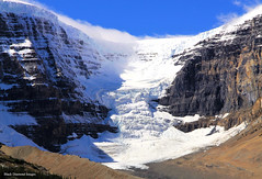 Dome Glacier From the Columbia Icefields Discovery Centre, Icefields Parkway, Alberta, Canada (Black Diamond Images) Tags: icefieldsparkway scenictours scenic 2012 alberta canada banfftojasper jaspernationalpark mountains mountain unidentifiedmountain canadianmountains albertamountains forest sky columbiaicefields landscape domeglacier nationalpark columbiaicefieldsdiscoverycentre columbiaicefielddiscoverycenter grass travelalberta albertatravel albertaholiday holidayalberta