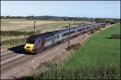 Bolton Percy,  XC HST 43301 1V85 (07.00 Edinburgh Waverley - Reading) 28/09/18. (DigitAL46232) Tags: boltonpercy bridge33 xc hst 43301