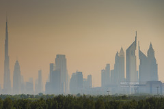 Dubai skyline in United Arab Emirates (Nick Brundle - Photography) Tags: arabia architecture burjkhalifa city cityscape downtown dubai gulfcountries skyline skyscraper unitedarabemirates nikond750 gettyimages