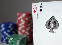 Blackjack On a Saturday night (SevenOneSeven MamboDan) Tags: 21game stillphotography closeup gamblingchips blackjack