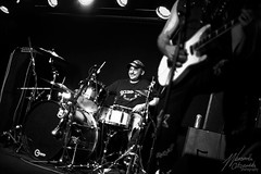 Shyyne @ The Slade Rooms 14/04/18 (WeronikaOl) Tags: vocalist vocal band liveband bass drums percussion singer hair microphone
