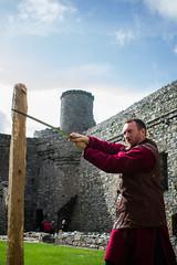 Owain Glyndwr Weekend 2018 (Coed Celyn Photography) Tags: knights knight armour reenactment larp medieval re enact harlech castle north wales gwynedd snowdonia eryri cymru cymraeg living history practice training sword weapon armor