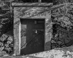 United Park City Mines (agianelo) Tags: explosives concrete bunker mine monochrome bw bn blackandwhite