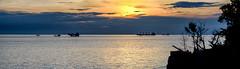 A Pano of a sunset Front Baach, Vung Tau (NguyenMarcus) Tags: vungtau bàrịa–vũngtàu vietnam vn worldtrekker aasia