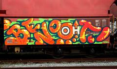 graffiti on freights (wojofoto) Tags: amsterdam nederland holland netherland freighttraingraffiti freighttrain freights fr8 vrachttrein cargotrain wojofoto wolfgangjosten benoi benoit