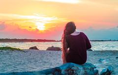 DSC_2882 (leonardorizalez1) Tags: playa venezuela beach sol sun atardecer horizonte mar arena distancia azul nikon d5100