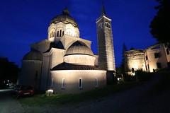 Complesso Monumentale (svlsrg) Tags: svlsrg lizzanoinbelvedere chiesa delubro blu notte