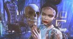 Yorrick (clau.dagger) Tags: drd saturday sale 75l vampire throne secondlife halloween horror fantasy furniture decor nantra bento poses ultra theforge collar xbyfameshed theepiphany sintiklia hair glamaffair skin pixicat lelutka white~widow