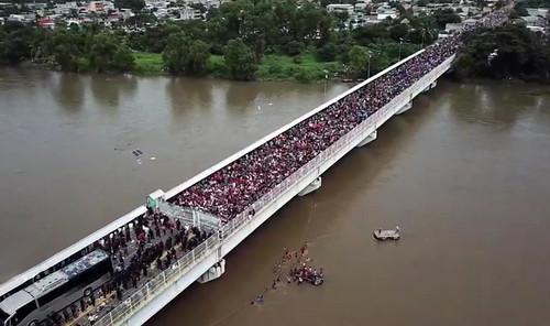Honduran refugee caravan, From FlickrPhotos
