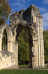 St Marys Abbey Arch South (Ravensthorpe) Tags: york buildings historical ruins