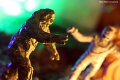 Monster Party (Retro Photo International) Tags: monster party swamp mummy macro carl zeiss jena tessar 50mm 35 halloween trickortreat macromondays