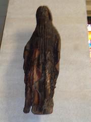 Statue en bois de l'ancienne église