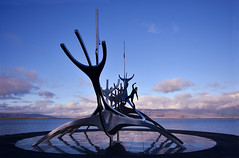 Land ho! (donna.quijote...) Tags: iceland reykjavik sunvoyager donna woman acrobathic sport climbing parcouring blackandwhite nice beautiful notallowed people human fun island ice country travel vacation cold water atlantic ocean vulkano dream wonderful troll elfs nature landscape