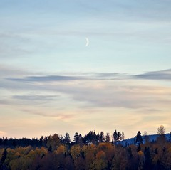 Evening (Stefano Rugolo) Tags: stefanorugolo pentax evening sky sunset autumn moon atmosphere lovely