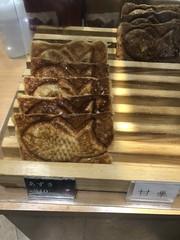 Custard-filled croissant dough Taiyaki (Like_the_Grand_Canyon) Tags: japan japanese nippon asia asian essen meal fish fisch pastry gebäck sapporo hokkaido