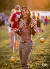 Lockn Festival (locknfestival) Tags: blue atmosphere vibe juggling smile