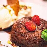 CHOCOLATE LAVA CAKE, Fleming's Prime Steakhouse & Wine Bar, Walnut Creek, California thumbnail