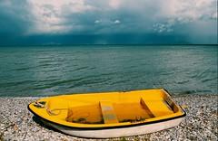 Movie Nights :Titanic (Storyteller.....) Tags: movie titanic boat beach winter sea sky blue yellow clouds