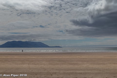 Solitude (PapaPiper) Tags: solitude beach inchbeach clouds sky seascape shoreline sea nature natural shore strand eire ireland countykerry dinglepeninsular alonetime justme europe walking thoughtful