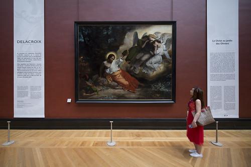 Exposition Eugène Delacroix, musée du Louvre, 2018