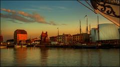 Im Hafen von Stralsund (angelofruhr) Tags: hafen stralsund historischesegelschiffe deutschland germany mecklenburg harbour hanse hansestadt strelasund segelschiff