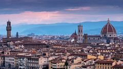 Firenze (Sworldguy) Tags: a73 camera country florence italy sonya73 sunset panoramic skyline landscape travelphotography firenze italia europe vacation skyscape tuscany cityscape viewpoint medieval landmark middleages magestic picturesque wideangle