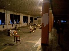 "scenes of 2018 art prize, ""site lab"" Franklin St. school (anthroview) Tags: nokia635 grandrapids artprize 49503 ps415 sitelab artdisplay heidelbergology heidelbergstreet heidelbergproject"